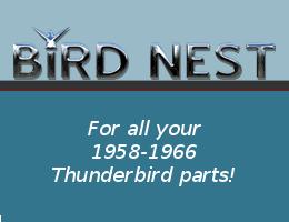 Bird Nest Thunderbird parts